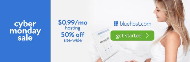 Bluehost Black Friday & Cyber monday Offer - Penjualan Hosting Terbesar 3